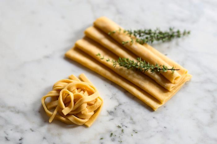 Frische Pasta mit dem Aroma Ihrer Wahl