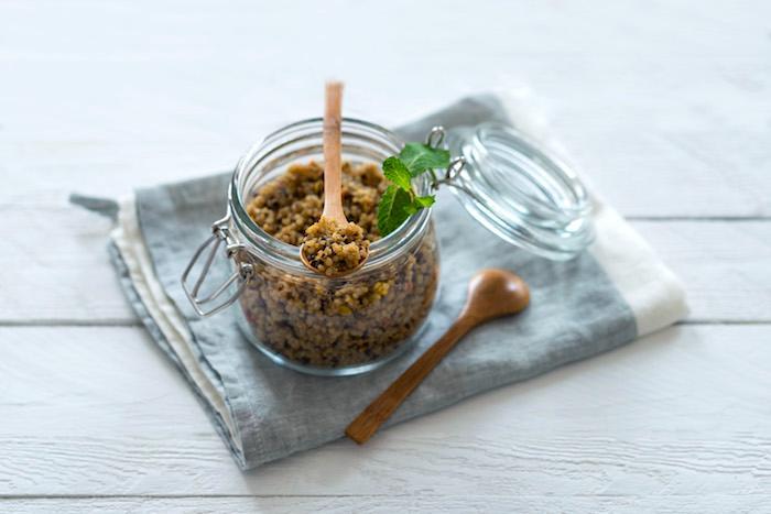 Quinoa Tabouleh mit Zitrusaroma, Minzaroma und Limettenaroma