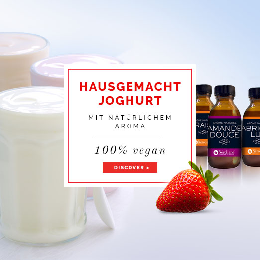 Hausgemacht joghurt mit natürlichem Aroma - Néroliane