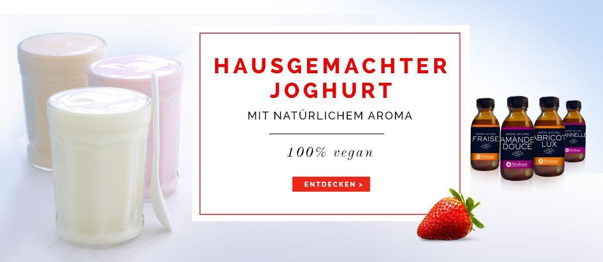 Néroliane Hausgemachter Joghurt mit natürlichem Aroma 100% vegan